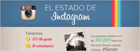 El estado de Instagram
