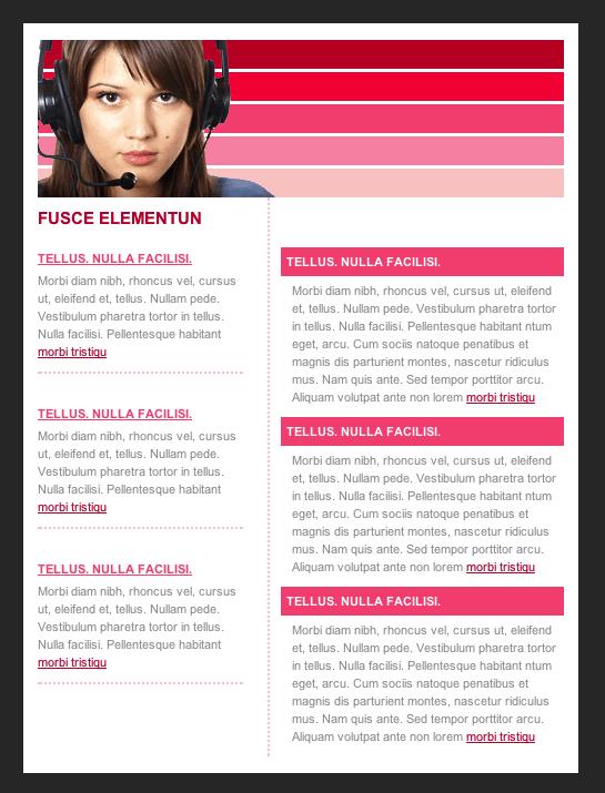 template columna 2