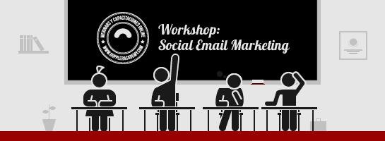 Workshop presencial Social Email Marketing