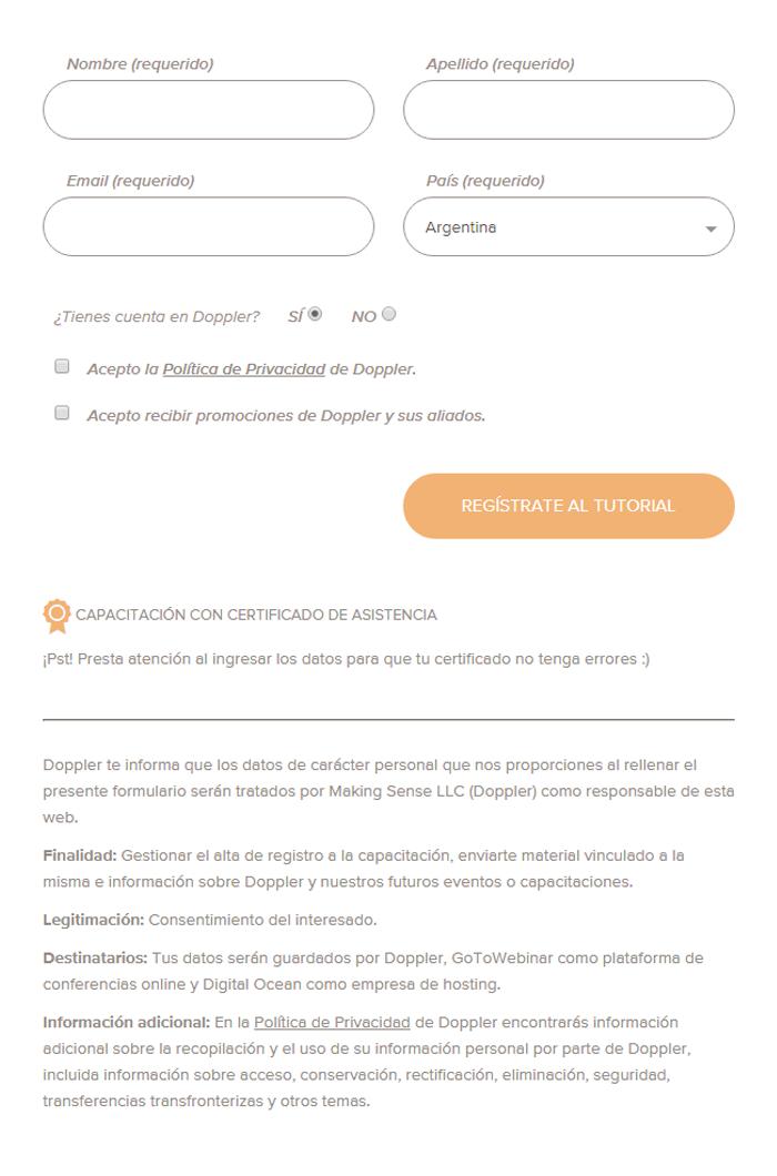ejemplo formulario rgpd