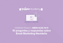 Webinar Email Marketing Navideño