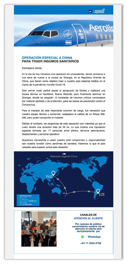 email-marketing-aerolineas-argentinas