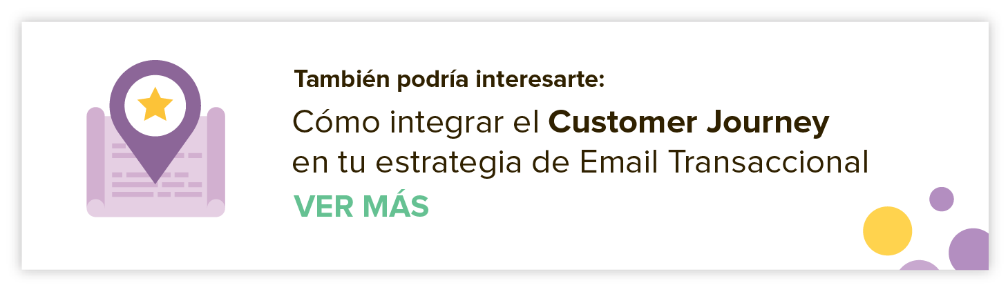 Customer Journey e Email Transaccional