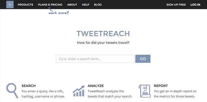Herramientas para Twitter: TweetReach
