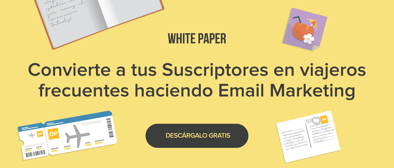 White Paper de Email Marketing  para Turismo