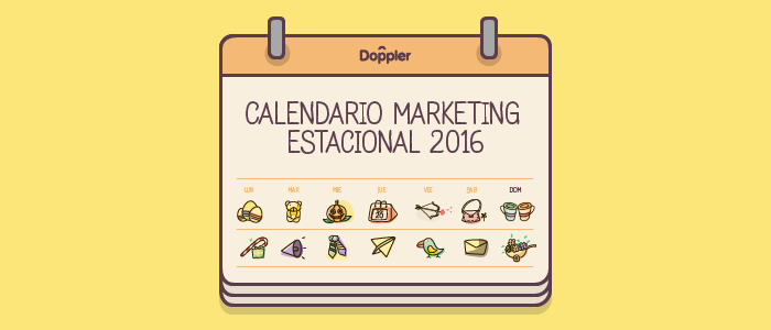 Calendario de Marketing Estacional