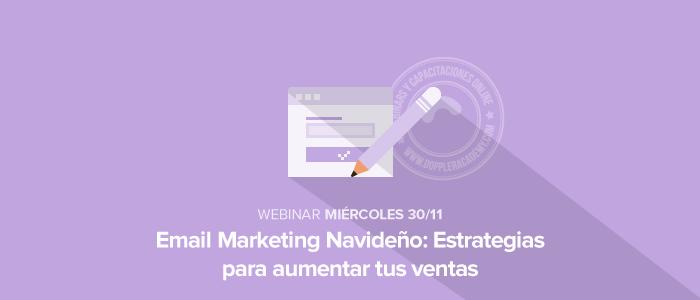 Capacitación Email Marketing para Navidad