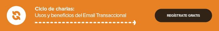 Evento gratuito de Email Transaccional