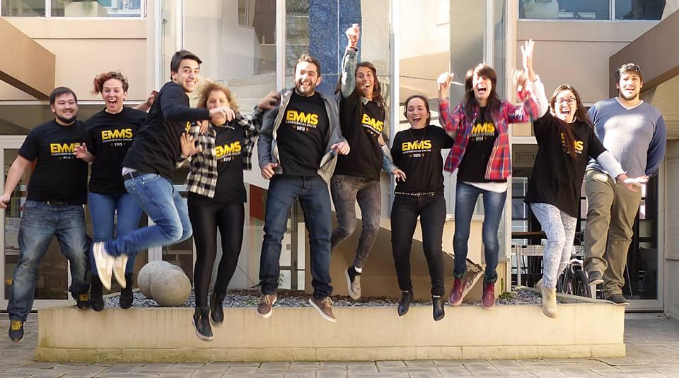 El equipo completo del EMMS 2015 disfrutando el éxito alcanzado.