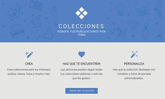 Presentación Google Colecciones