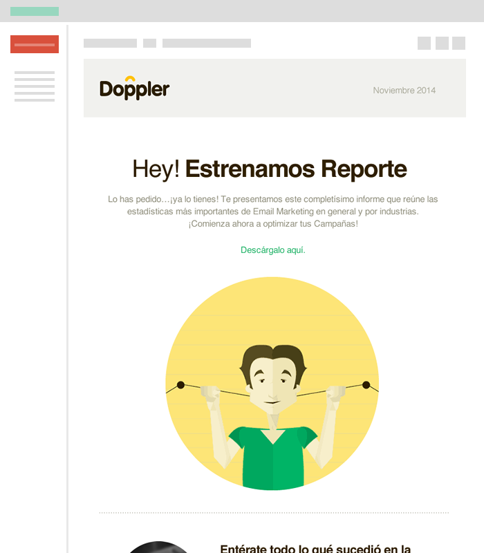 Campaña de Email Newsletter