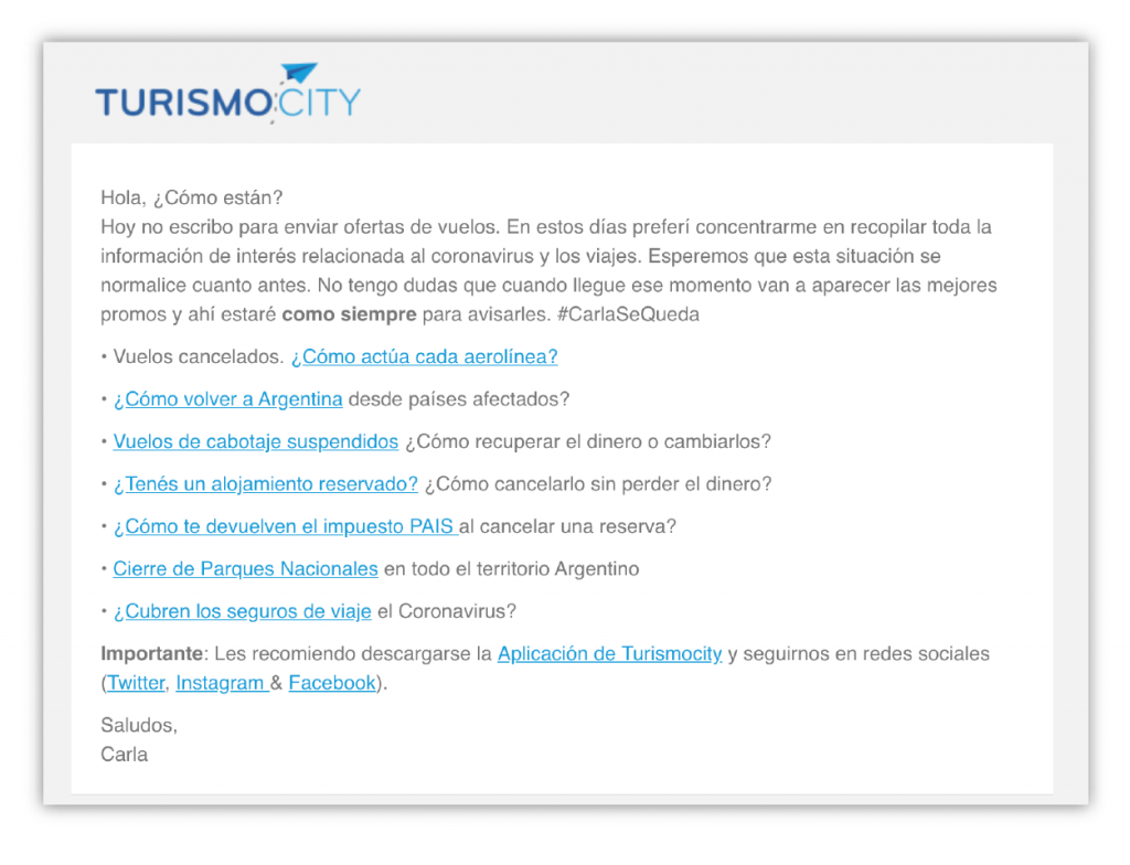 email-marketing-turismo-city