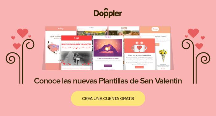 Plantillas de San Valentín para Email Marketing