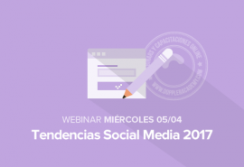 Tendencias Social Media 2017