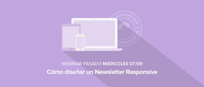 Cómo diseñar un Newsletter Responsive