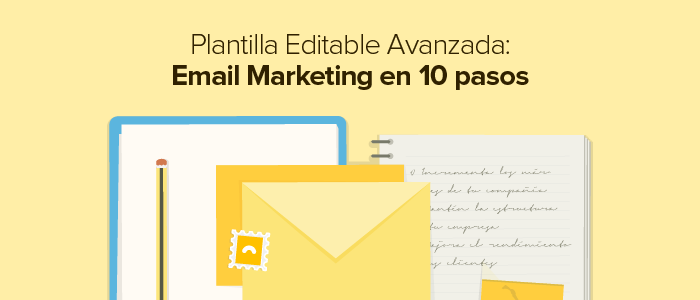 Plantilla para Email Marketing avanzado