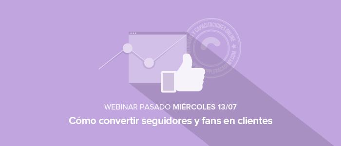 Cómo convertir seguidores y fans en clientes