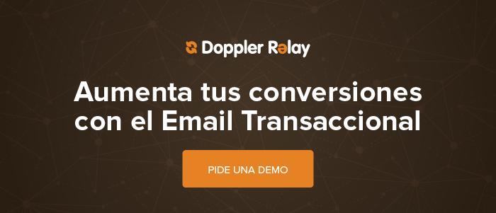 Evento de Email Transaccional